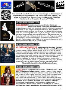 Soirée 7° Art 2015-2016 7ème tranche-1